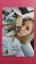 TAEYEON SNSD WHY Official Photocard Ver B Album Girl's Generation Photo card 태연
