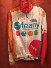 M CANNONDALE teany MOBY L/S Cycling Jersey & WINDPROOF Vest NYC Taniguchi Racing