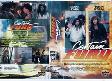 CERTAIN FURY - ACTION - 1985  *RARE VHS TAPE*
