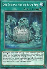 YU-GI-OH CARD: DARK CONTRACT WITH THE SWAMP KING - MP16-EN169 - 1st EDITION