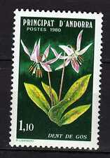 Andorra ( French Post ) : 1980 Flora ( Dent de Gos ) New ( MNH )