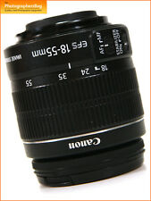 Canon EF-S 18-55mm F3.5-6  Image Stabilizer Zoom Lens II + Free UK Postage