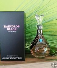 Raindrop Black for women - 100 ml Eau de Parfum - Jean Pierre Sand -  NEU