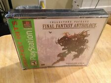 Final Fantasy Anthology Greatest Hits Version Playstation System Brand New Game