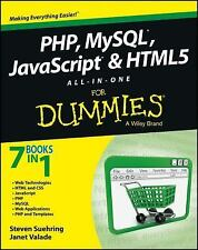 PHP, MySQL, JavaScript & HTML5 All-in-One For Dummies-ExLibrary