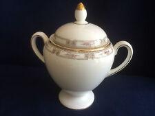 Wedgwood Colchester alto con coperchio Zuccheriera (lievi dorati usura su maniglie)