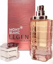MONT BLANC LEGEND POUR FEMME EDP SPRAY FOR WOMEN 2.5 Oz / 75 ml BRAND NEW ITEM !