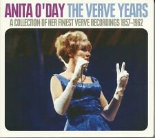 ANITA O'DAY THE VERVE YEARS - A COLLECTION OF HER VERVE RECORDINGS 1957 - 1962