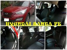 Hyundai Santa Fe High quality Factory Fit Customized Leather CAR SEAT COVER