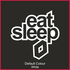 Eat Sleep Renault Decal, Vinyl, Sticker, Graphics, Car, JDM, EURO, CLIO, N2178