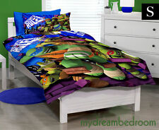 Teenage Mutant Ninja Turtles Rule Rev. Single Quilt Cover Set + Pillowcase