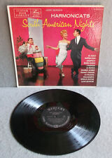 THE HARMONICATS SOUTH AMERICAN NIGHTS Mercury Lp Latin Jazz MG20107 Jerry Murad