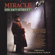 Miracle on 34th Street Original Soundtrack 1994 CD Various Artists Christmas