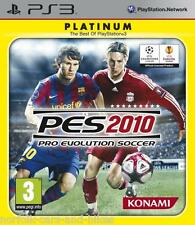 Ps3 PES 2010 PLATINUM PRO EVOLUTION SOCCER CON MANUALE PAL VIDEOGIOCHI
