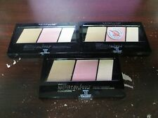 3 MAYBELLINE MASTER CONTOUR FACE CONTOURING KIT *10* 9/18+  RR 16446
