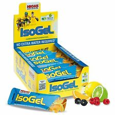 High5 IsoGel Mixed Flavours Pack of 20 x 60ml Sachets - Cycling/Running/Gym