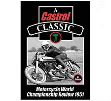 MOTORCYCLE WORLD CHAMPIONSHIP REVIEW 1951 DVD by Duke - Classic Motorbike - New