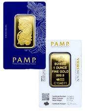 PAMP Suisse 1 Troy Oz .9999 Gold Bar Fortuna w/ VeriScan Assay Cert. SKU27398