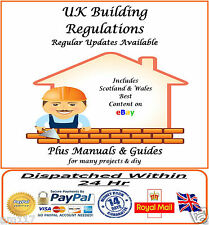 UK Building Regulations  Comprehensive Regs with Updates Link Inc Scots & Wales