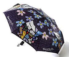 ✿ ROMERO BRITTO ✿ FOLDABLE UMBRELLA:  CATS & FLOWERS   ** NEW **