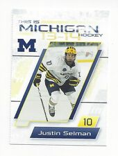2013-14 Michigan Wolverines Justin Selman (Missouri Mavericks)