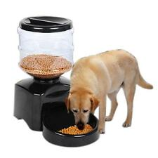 New Automatic Pet Feeder Programmable Timer Food Dispenser Container for Dog Cat