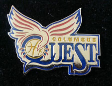 COLUMBUS QUEST ABL American Basketball League Lapel Pin