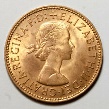 E491 Gran Bretaña 1967 medio Penique - UK half penny