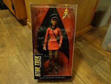 2016 MATTEL BARBIE COLLECTOR--STAR TREK--LIEUTENANT UHURA DOLL (NEW) BLACK LABEL