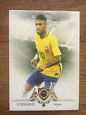2016 Unique Futera Soccer Card - Brazil NEYMAR Mint