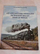 les locomotives articulées du système Mallet dans le monde