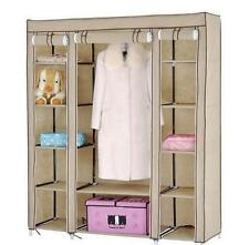 FOLDING WARDROBE CUPBOARD ALMIRAH-XII-DOUBLE-CRM