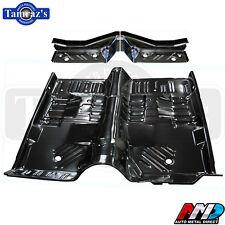 66-70 Mopar B-Body Interior Front Rear L & R Footwell 1pc Full Floor Pan Set AMD