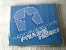 PAULINE HENRY - WATCH THE MIRACLE START - 1994 UK CD SINGLE