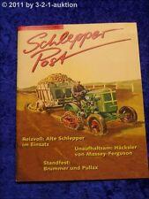 Schlepper Post 1/98 Pullax MAN 4L1 AS 430 Brummer SPo 3 Massey Ferguson