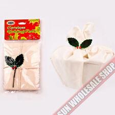 D.LINE 100% Cotton Christmas Xmas Traditional Calico Pudding Cloth 60 x 60cm!
