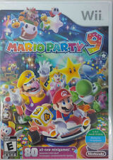 Mario Party 9 WII New Nintendo Wii