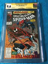 Spectacular Spider-Man #201 - Marvel - CGC SS 9.6 NM+ - Signed by J.M. DeMatteis