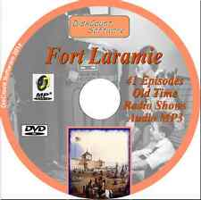 Fort Laramie 41 episodes Old Time Radio Shows -   MP3 DVD