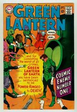 Green Lantern #55 NM 9.4 OW pages Unrestored 1967 DC Silver age