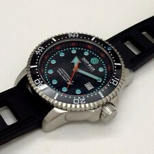 New Deep Blue Juggernaut IV Black Swiss Automatic Sapphire Crystal Mens Watch