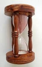 Nautical Awesome Style WOODEN SAND TIMER Collectible Hour Glass Christmas Gift
