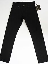 $990 TOM FORD TF003 Black Jeans Straight Cut Low Rise Size 42 US 58 Euro