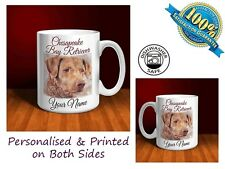 Chesapeake Bay Retriever Personalised Ceramic Mug: Perfect Gift.(D103)