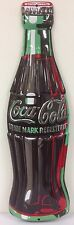 Ande Rooney COCA-COLA DIE CUT BOTTLE Tin Coke Sign Embossed 2180031 NEW