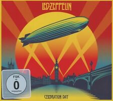 LED ZEPPELIN - CELEBRATION DAY 2 CD + BLU-RAY HARD ROCK NEW+