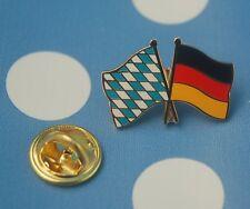 Freundschaftspin Bayern Deutschland Pin Button Badge Anstecknadel Sticker