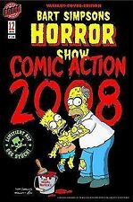 Bart simpson horror show #12 variant COVER LIMITÉ 666 ex. Bande dessinée Action 2008