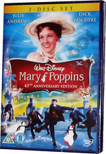 Mary Poppins Walt Disney Special 45th Anniversary Film Edition DVD New Sealed