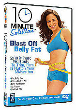 10 Minute Solution - Blast Off Belly Fat (DVD, 2008)